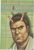 Books:Horror & Supernatural, [Stephen King]. SIGNED. The Magazine of Fantasy & Science Fiction. Stephen King Issue. Cornwall, Connecticut: Ed...