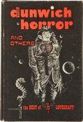 Books:Horror & Supernatural, H.P. Lovecraft. The Dunwich Horror and Others: The BestSupernatural Stories of H.P. Lovecraft. Sauk City: A...