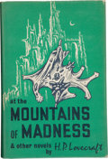 Books:Horror & Supernatural, H.P. Lovecraft. At the Mountains of Madness and Other Novels. Sauk City: Arkham House, 1964. First edition. Publishe...