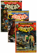 Bronze Age (1970-1979):Horror, Tomb of Dracula Group (Marvel, 1972-73) Condition: Average FN-except as noted.... (Total: 10 Comic Books)
