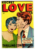 Golden Age (1938-1955):Romance, Secret Love Stories #nn (Fox Features Syndicate, 1949) Condition:FN-....
