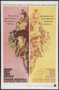 """Movie Posters:War, None But the Brave (Warner Brothers, 1965). One Sheet (27"""" X 41"""").War.. ..."""