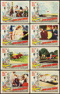 "Movie Posters:Sports, Red Line 7000 (Paramount, 1965). Lobby Card Set of 8 (11"" X 14""). Sports.. ... (Total: 8 Items)"