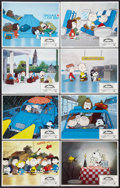 "Movie Posters:Animated, Bon Voyage, Charlie Brown (Paramount, 1980). Lobby Card Set of 8(11"" X 14""). Animated.. ... (Total: 8 Items)"