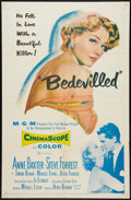 "Movie Posters:Crime, Bedevilled (MGM, 1955). One Sheet (27"" X 41""). Crime.. ..."