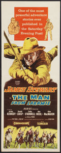 """Movie Posters:Western, The Man from Laramie (Columbia, 1955). Insert (14"""" X 36""""). Western.. ..."""
