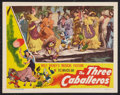 "Movie Posters:Animated, The Three Caballeros (RKO, 1945). Lobby Card (11"" X 14"").Animated.. ..."