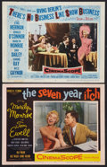 """Movie Posters:Comedy, The Seven Year Itch and Other Lot (20th Century Fox, 1955). Lobby Cards (2) (11"""" X 14""""). Comedy.. ... (Total: 2 Items)"""