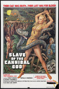 "Movie Posters:Adventure, Slave of the Cannibal God (New Line, 1979). One Sheet (27"" X 41"").Adventure.. ..."