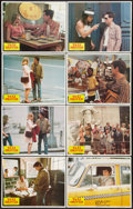 """Movie Posters:Crime, Taxi Driver (Columbia, 1976). Lobby Card Set of 8 (11"""" X 14"""").Crime.. ... (Total: 8 Items)"""
