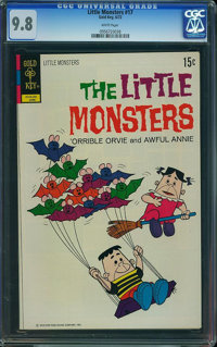 Little Monsters #17 (Gold Key, 1972) CGC NM/MT 9.8 White pages