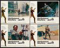 "Movie Posters:Crime, Dirty Harry (Warner Brothers, 1971). Lobby Cards (4) (11"" X 14"").Crime.. ... (Total: 4 Items)"