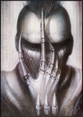 """Movie Posters:Horror, Future-Kill (International Film Marketing, 1985). Numbered and Signed H.R. Giger Lithograph Poster (26"""" X 37""""). Horror.. ..."""