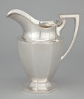 Silver & Vertu:Hollowware, AN AMERICAN SILVER WATER PITCHER . Dominick & Haff, New York, New York, circa 1920. Marks: (rectangle-circle-diamond), STE...