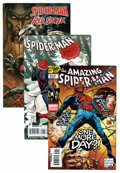 Modern Age (1980-Present):Superhero, The Amazing Spider-Man Related Long Box Group (Marvel, 1990s-00s)Condition: Average NM-....
