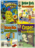 Bronze Age (1970-1979):Cartoon Character, Harvey Digest File Copy Large Group (Harvey, 1970s) Condition:Average NM-.... (Total: 51 Box Lots)