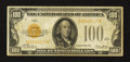Small Size:Gold Certificates, Fr. 2405 $100 1928 Gold Certificate. Fine.. ...