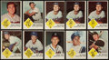 Baseball Cards:Lots, 1963 Fleer Baseball Collection With Stars (61 cards). ...