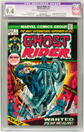 Bronze Age (1970-1979):Horror, Ghost Rider #1 (Marvel, 1973) CGC Apparent NM 9.4 Slight (A)Off-white pages....