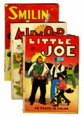 Golden Age (1938-1955):Miscellaneous, Four Color #1 and 3-7 Group (Dell, 1942).... (Total: 6 Comic Books)