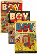 Golden Age (1938-1955):Superhero, Boy Comics Group (Lev Gleason, 1946-53) Condition: Average VG.... (Total: 8 Comic Books)