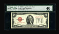 Small Size:Legal Tender Notes, Fr. 1504* $2 1928C Legal Tender Note. PMG Extremely Fine 40.. ...