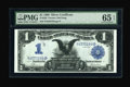 Large Size:Silver Certificates, Fr. 229 $1 1899 Silver Certificate PMG Gem Uncirculated 65 EPQ....