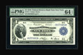 Fr. 711 $1 1918 Federal Reserve Bank Note PMG Choice Uncirculated 64 EPQ