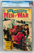 Golden Age (1938-1955):War, All-American Men of War #12 (DC, 1954) CGC VF- 7.5 Off-whitepages....