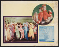 """On with the Show! (Warner Brothers, 1929). Lobby Card (11"""" X 14""""). Musical"""