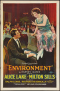 """Movie Posters:Crime, Environment (Principal Distributing, 1922). One Sheet (27"""" X 41"""")Style A. Crime.. ..."""