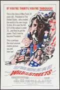 """Movie Posters:Exploitation, Wild in the Streets (American International, 1968). One Sheet (27"""" X 41""""). Exploitation.. ..."""
