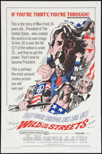 """Wild in the Streets (American International, 1968). One Sheet (27"""" X 41""""). Exploitation"""
