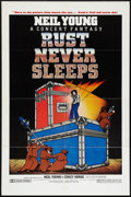 "Movie Posters:Rock and Roll, Rust Never Sleeps (International Harmony, 1979). One Sheet (27"" X41""). Rock and Roll.. ..."