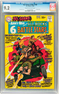 Silver Age (1956-1969):War, Our Army at War #190 (DC, 1968) CGC NM- 9.2 Cream to off-white pages....