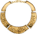 Estate Jewelry:Necklaces, Gold Necklace, Jean Mahie. ...