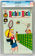 Bronze Age (1970-1979):Cartoon Character, Richie Rich #98 File Copy (Harvey, 1970) CGC NM+ 9.6 Off-white towhite pages....