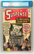 Silver Age (1956-1969):Mystery, Tales of Suspense #35 (Marvel, 1962) CGC VG- 3.5 Off-whitepages....