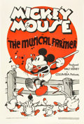 "Movie Posters:Animation, The Musical Farmer (Columbia, 1932). One Sheet (27"" X 41"").. ..."