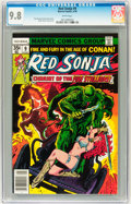 Bronze Age (1970-1979):Adventure, Red Sonja #9 (Marvel, 1978) CGC NM/MT 9.8 White pages. ...