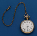 Timepieces:Pocket (post 1900), Hamilton 23 Jewel Grade 950 Pocket Watch. ...