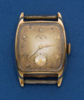 Timepieces:Wristwatch, Lord Elgin 14k Gold for Restoration. ...