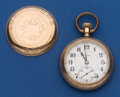 Timepieces:Pocket (post 1900), Illinois 19 Jewel 16 Size Roosevelt Bridge Movement. ...