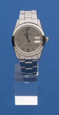 Timepieces:Wristwatch, Rolex Steel Reference 6698 Oyster Date Precision. ...
