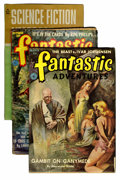 Pulps:Miscellaneous, Assorted Science Fiction Pulps Group (Various, 1944-60) Condition:Average GD/VG.... (Total: 17 Items)