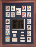 Autographs:Others, 1940's-2000's 3,000 Hit Club Multi-Signed Display....