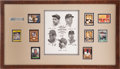 Autographs:Others, 1930's-2000's Sixty Home Run Club Signed Display....