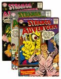 Silver Age (1956-1969):Science Fiction, Strange Adventures Group (DC, 1958-61) Condition: Average VG+.... (Total: 12 Comic Books)