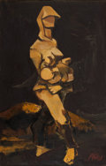 Paintings, ABIDIN DINO (Turkish, 1913-1993). Maternity, circa 1940s. Oil on canvas. 39-1/2 x 25-1/2 inches (100.3 x 64.8 cm). Signe...