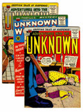 Silver Age (1956-1969):Horror, Adventures Into The Unknown Group (ACG, 1958-61) Condition: AverageVG+.... (Total: 12 Comic Books)